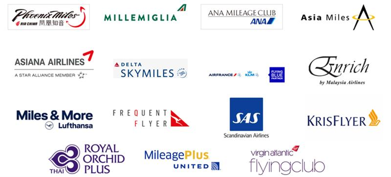 Worldhotels Earn Frequent Flyer Miles with our Partners